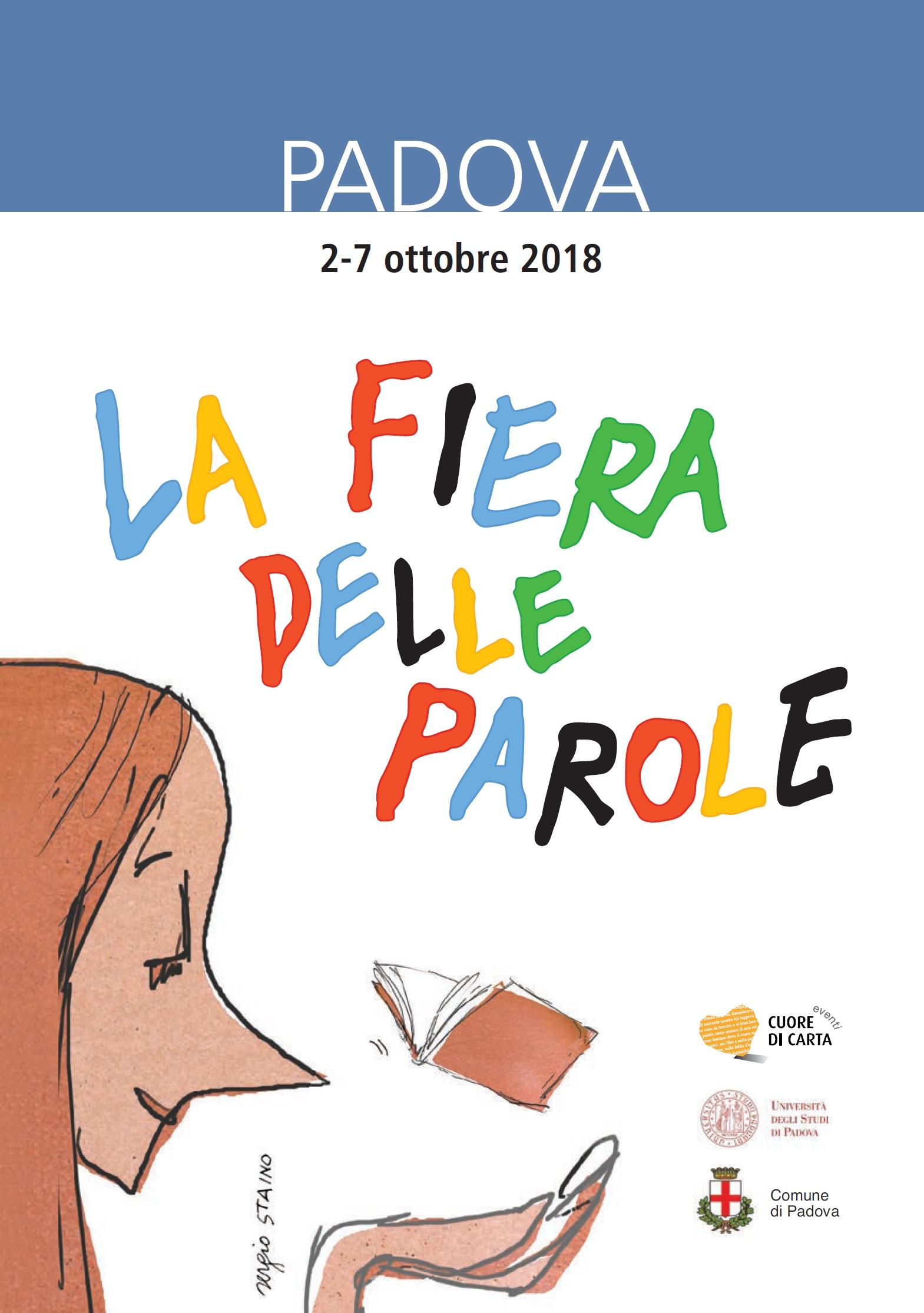 Calendario Manifestazioni Abano Terme.La Fiera Delle Parole 2018 Mobile Padova Cultura
