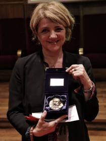 Cristina Cattaneo - Cerimonia di assegnazione del Premio Galileo 2019