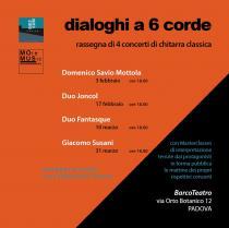 Dialoghi a 6 corde. Rassegna di 4 concerti di chitarra classica