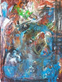 mostra di pittura Marlisa Ciccarelli - COVID