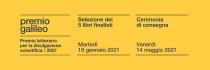 Premio Letterario Galileo 2021. XV edizione