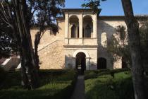 facciata della casa del Petrarca