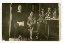 famiglia in lettura