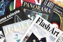 copertine di alcune riviste d'arte