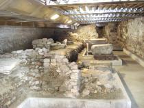 sotterranei di Palazzo della Ragione