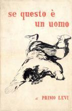copertina del libro Se questo è un uomo