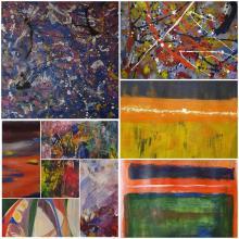 Porta Aperta 2020 P.E. - Transizioni viaggio nella pittura astratta