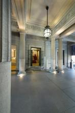 atrio d'ingresso di Palazzo Zuckermann