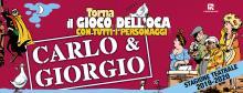 Appuntamenti con il Teatro Veneto 2019-XIV edizione-Carlo & Giorgio