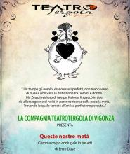 Appuntamenti con il Teatro Veneto 2019-XIV edizione-Queste nostre metà