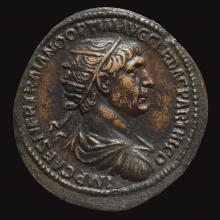 11. Impero Romano, Traiano (98-117 d.C.), Asse, zecca di Roma per la Syria (Museo Bottacin di Padova)
