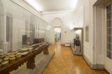sala delle ceramiche del Museo di Arti applicate