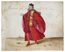 Codicetto Bottacin - Rettore dell'Università