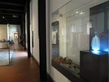 vetrina del Museo Archeologico